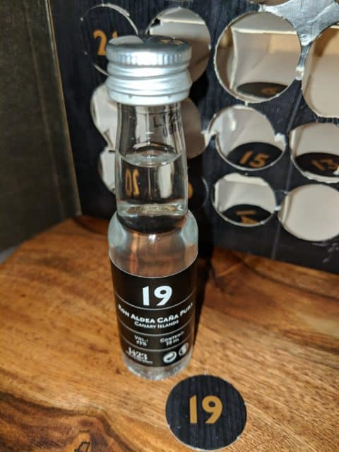 Degustační lahvinka Ron Aldea Caňa Pura