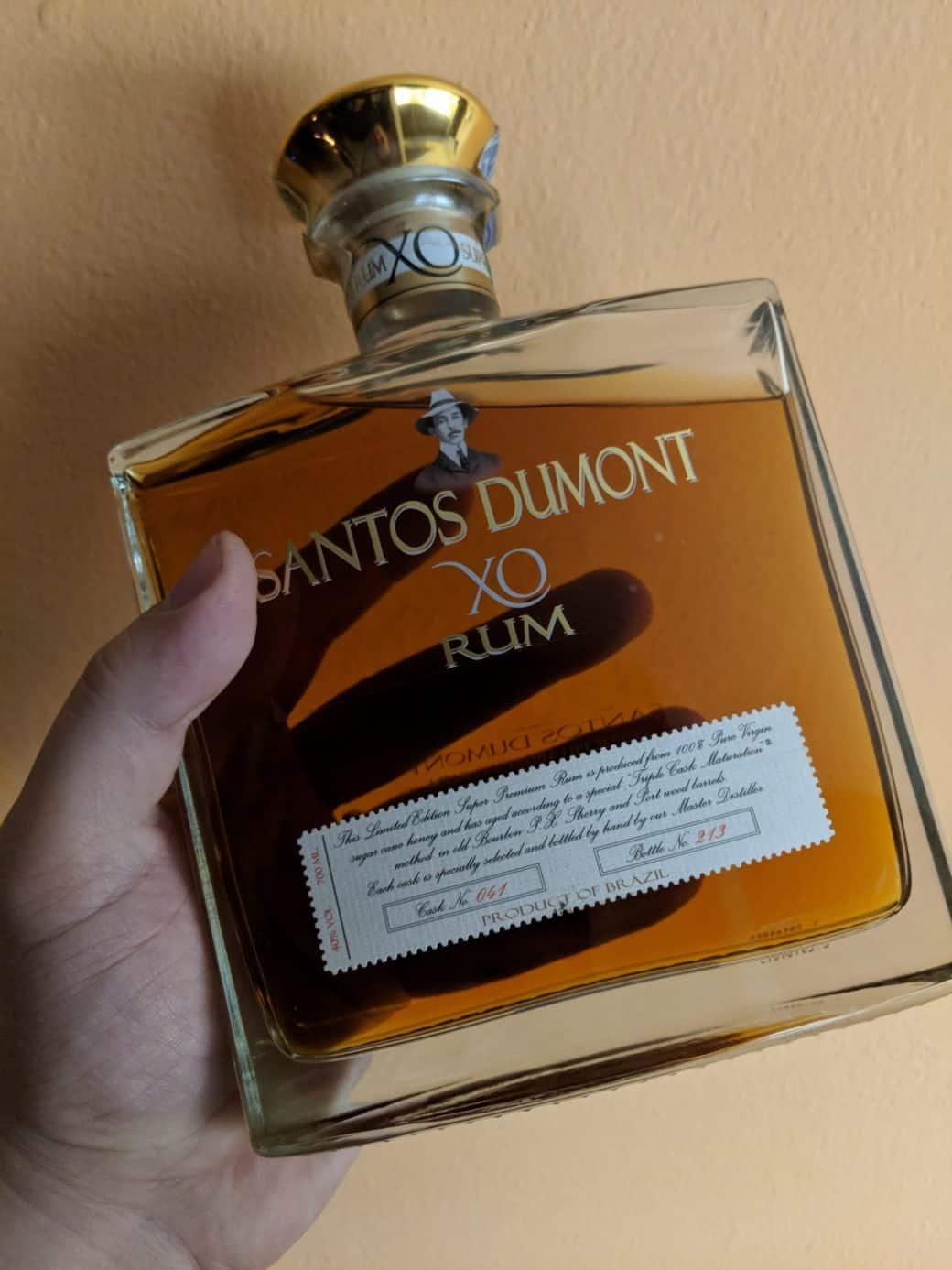Sladký Santos Dumont XO 0,7 l z Brazílie - láhev
