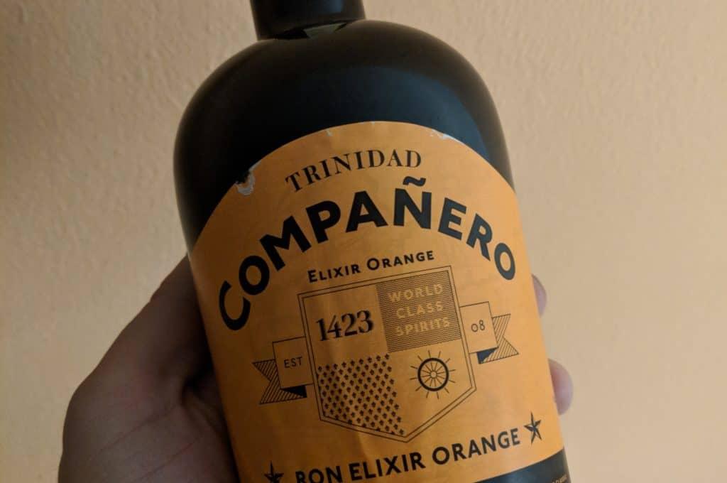 Ron Compaňero Elixir orange - láhev