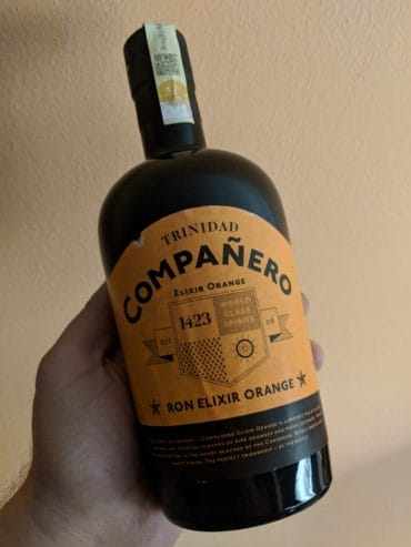 Ron Compaňero Elixir orange - láhev