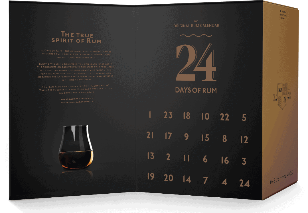 The True Spirit of Rum - 24 days of rum