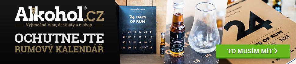 Ochutnejte adventní rumový kalendář 2018 u Alkohol.cz
