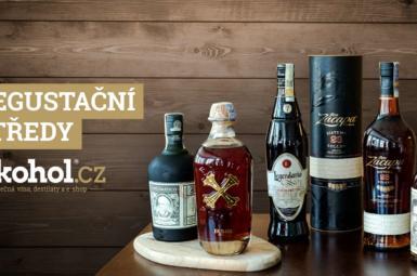 Rumové degustace: středeční degustace v Alkohol.cz