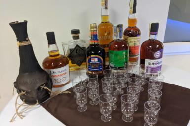 Rumová degustace na firemním večírku
