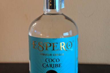 Bílý rumový likér Espero Coco Caribe