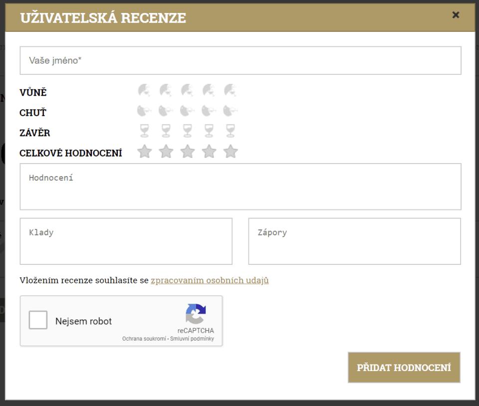 Hodnoťte vůni, chuť, závěr i celkové hodnocení na Alkohol.cz