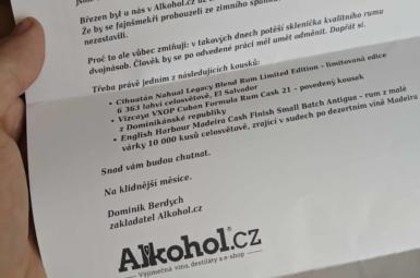 Vacilón, Rum & Cane, Santos Dumont – květnový rumový degustační balíček od Alkohol.cz