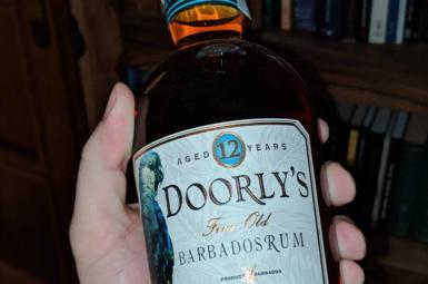 Doorly's 12 – low-carb rum, co se nezdá