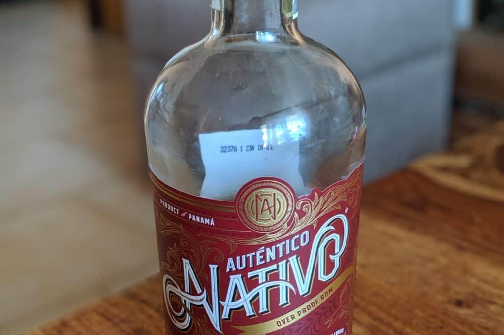 Nativo Autentico Overproof 0,7l 54%