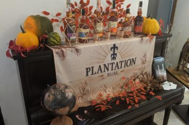 Degustace rumů Plantation od Ron de Garden
