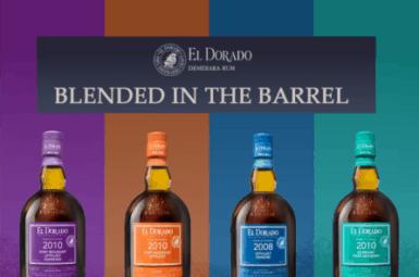 "Nová série rumů El Dorado ""Blended in the Barrel"""