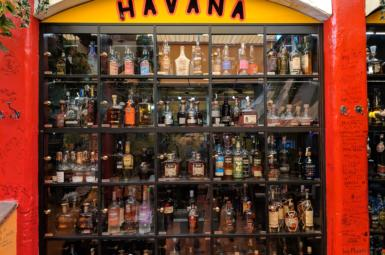 Havana Brno – bar s největším počtem lahví rumu v Česku