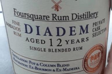 Foursquare rum Diadem