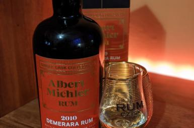 Albert Michler 2010 Demerara Single Cask Collection