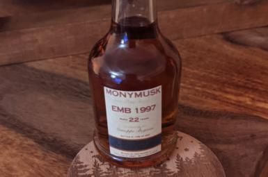Monymusk EMB 1997 Exclusively for Guiseppe Begnoni (rumový kalendář The Rum Cartel)