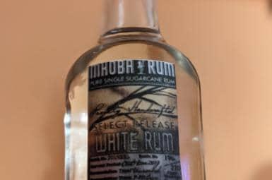 Mhoba White Rum (rumový kalendář The Rum Cartel)