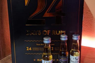 Zaka Trinidad 7y – 16. rum rumového kalendáře (2020)