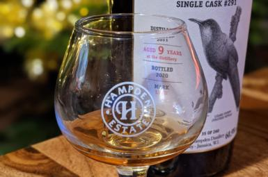 Hampden Estate Lizard Cuckoo Single Cask číslo 291
