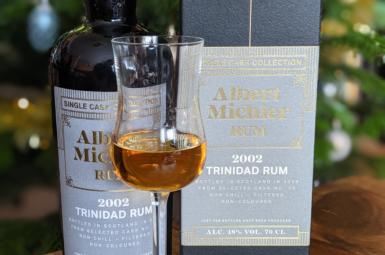 Albert Michler 2002 Trinidad Single Cask Collection