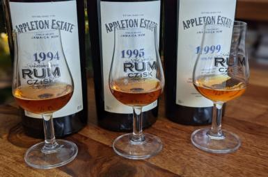 Appleton Estate Hearts Collection 1994, 1995, 1999