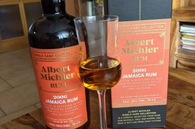 Albert Michler 2006 Jamaica Single Cask Collection