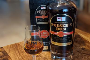 Recenze: Pusser's rum 15y