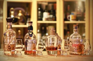 Vliv času na rum v otevřené láhvi