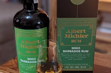 Albert Michler 2005 Barbados Single Cask Collection