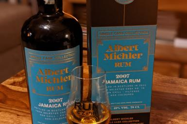 Albert Michler 2007 Jamaica Single Cask Collection