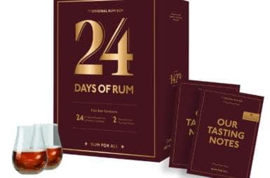 Rumový degustační adventní kalendář 2021 aneb 24 days of rum od 1423.dk