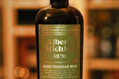 Recenze Albert Michler Single Cask 2002 Trinidad 18y plnění pro Rum CZ SK